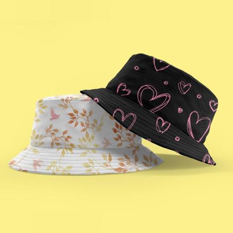 כובע פטרייה רחב שוליים