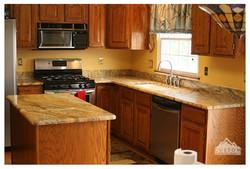 Yellow River granite counter tops