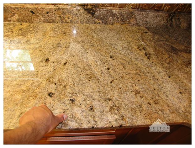 San Luis Granite  kitchen counter