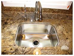 San Luis granite with stainless undermount sink