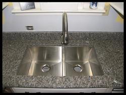 Graphite Brown with Zero Radius sink