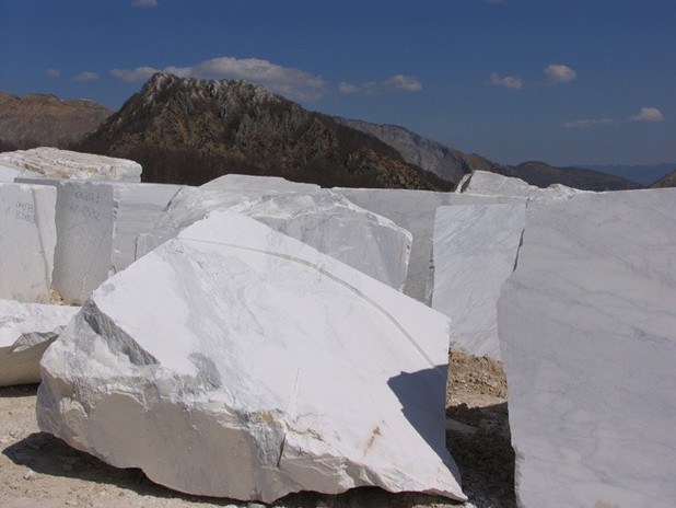 Marble Blocks at quarry