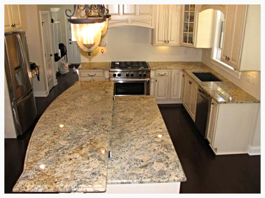 Absolute Cream Granite Countertops