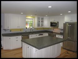 Graphite Brown Granite Miter Counter