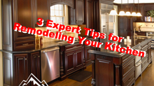 3 Expert Tips for Remodeling Your Kitchen