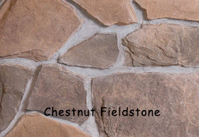 Chestnut Fieldstone Wall Stone