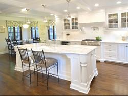 Calacatta Gold Marble Kitchen View