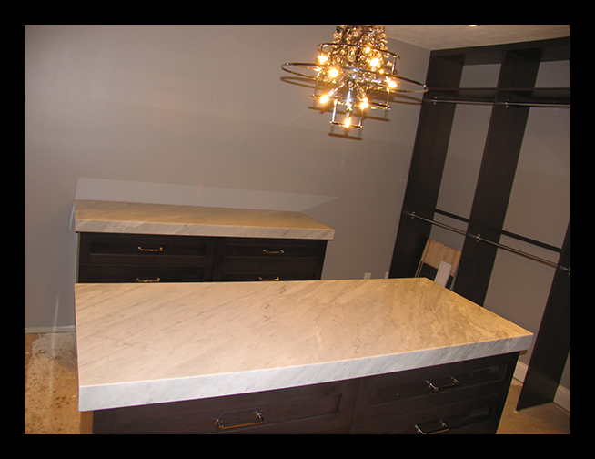 White Carrara Furniture top
