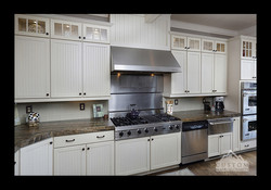 Sandalus Granite Countertops with Mitered thick edge