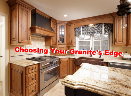How to choose your granite's edge