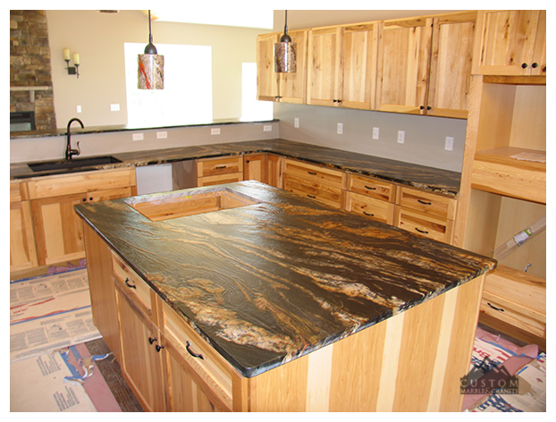 Golden Supreme Granite Island