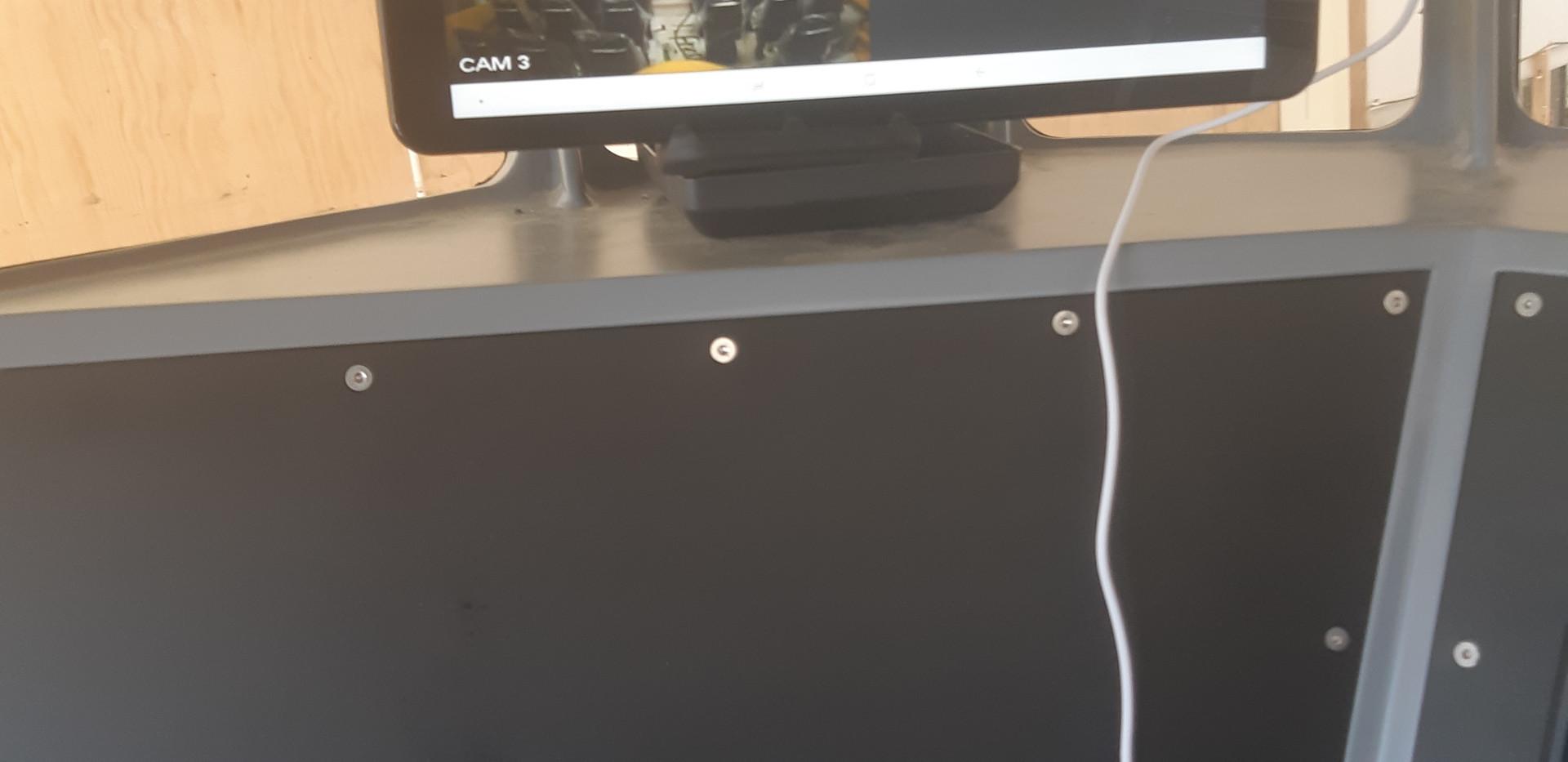CCTV display