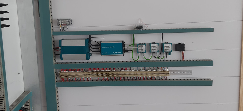 Inside of the DC Switchboard