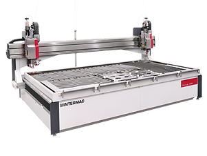 The range of water jet cutting machines for glass designed to meet the needs of companies searching