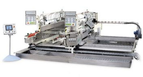 Our series of double-edgers for the processing of flat edge with arris is available with many differ