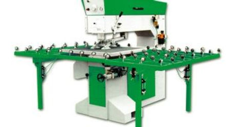 Complete line of horizontal automatic, semiautomatic and manual drilling machines with one head or t
