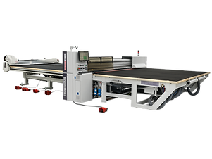 The range of cutting tables for laminated glass aimed at companies that wish to automate their lamin