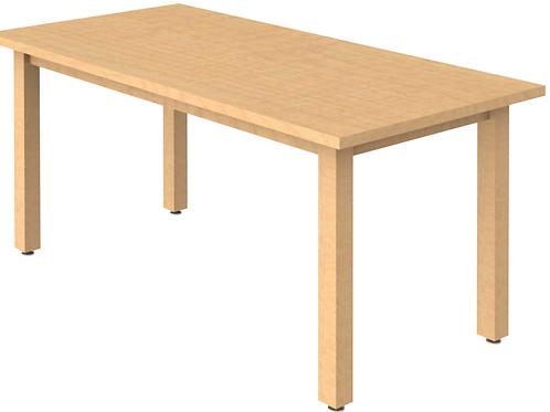 Rectagular Reading Table