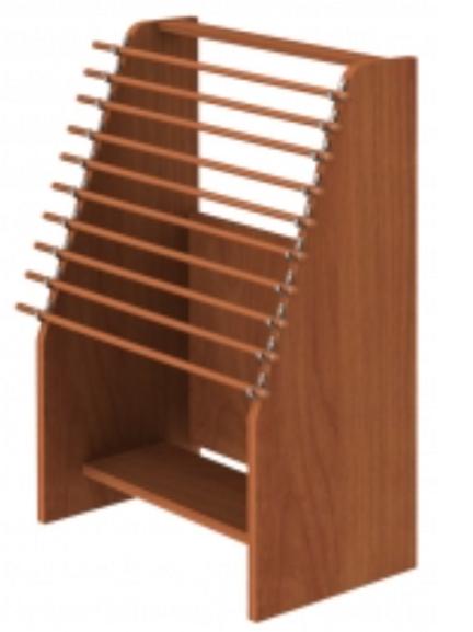 Maco Newspaper Display Rack