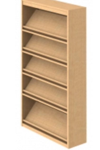 Designer Series Magazine Shelving