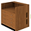 Thumbnail: 4 Drawer Patron Desk