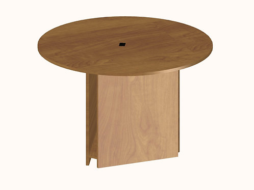 Round Computer Table