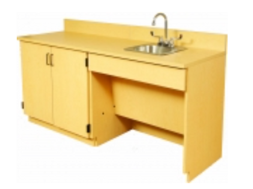 Sink Base Cabinet W/ Storage