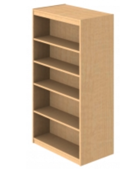 Designer Series Double Face Shelving