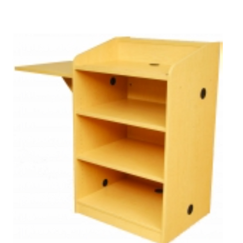 Lectern with Visual Presenter Shelf