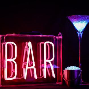 Bar Pink Neon Light Hire
