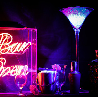 Bar Open Traditional Red Neon