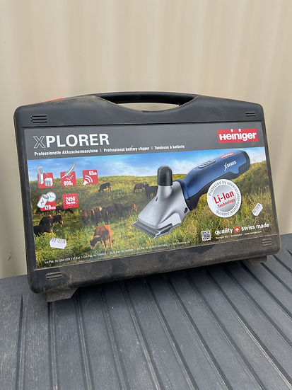 XPLORER - CORDLESS CLIPPER FOR CATTLE AND HORSE