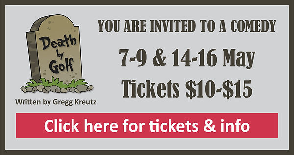 death by golf signs tickets and info