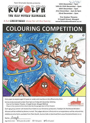 colouring competition winner - 11-15