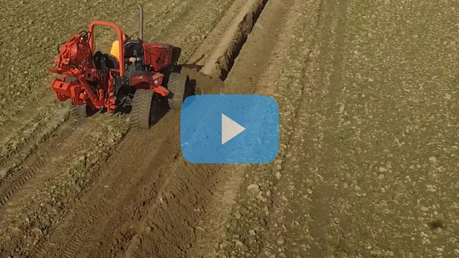 One of a kind, Quad Track Trencher Arrives!