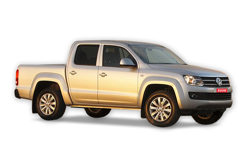 VW Amarok with Balanced suspension ride heights