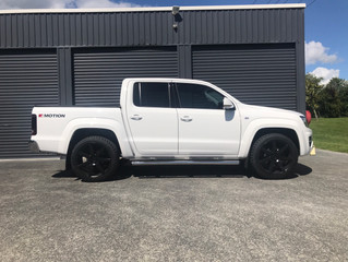 What size wheels can you run on a V6 Amarok