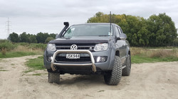 Amarok with coil spacer lift kit