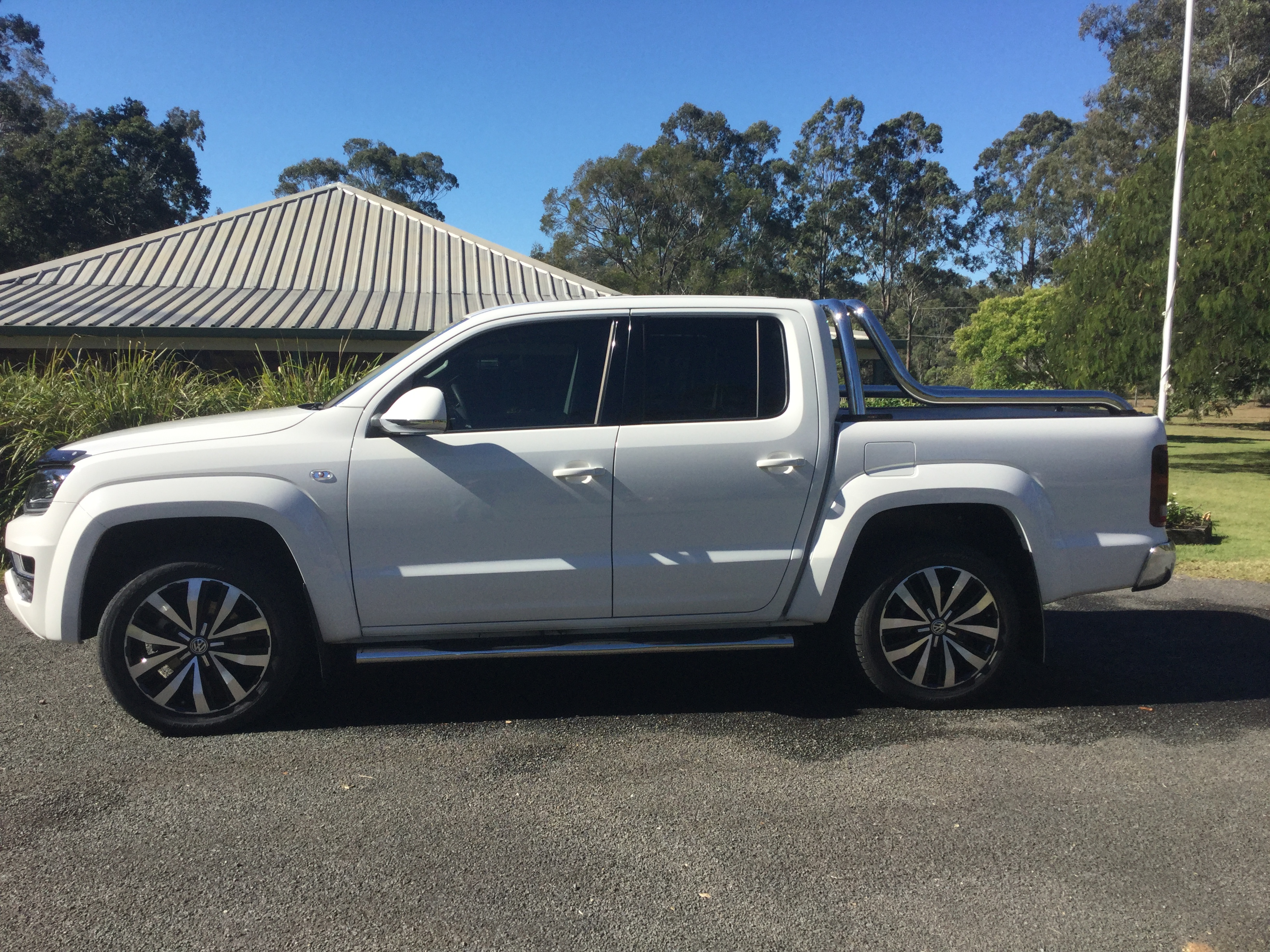 Lowered V6 Amarok