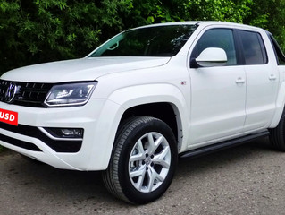 First V6 Amarok fitted with SUSD kit