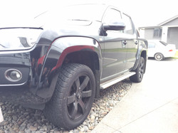 Amarok with 2 inch front lift kit