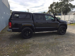 Amarok with 50mm lift kit