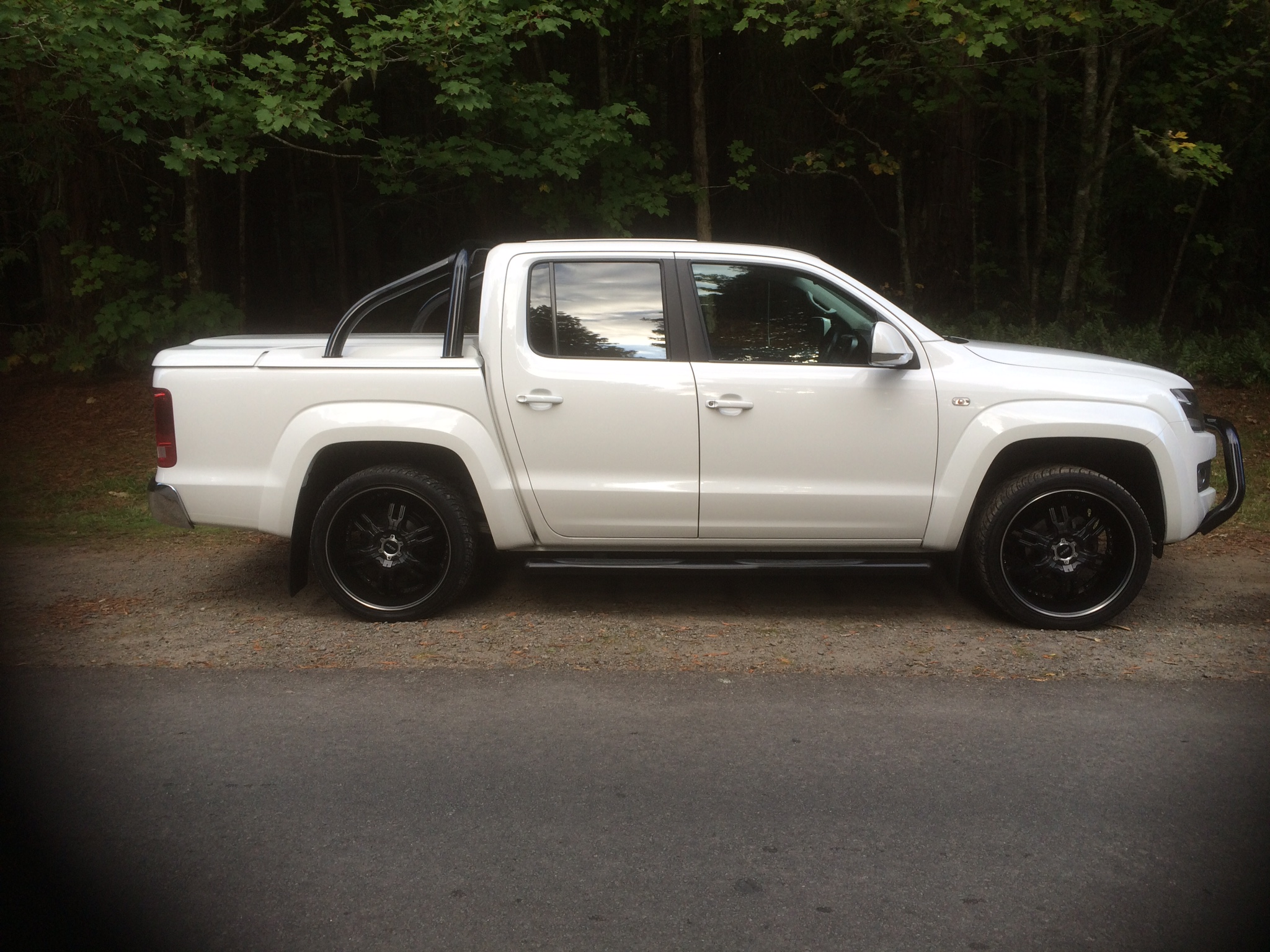 lowered amarok