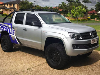 How high can you lift a VW Amarok?