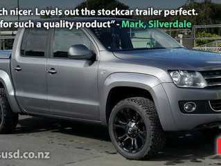 Stockcar trailer tows better!
