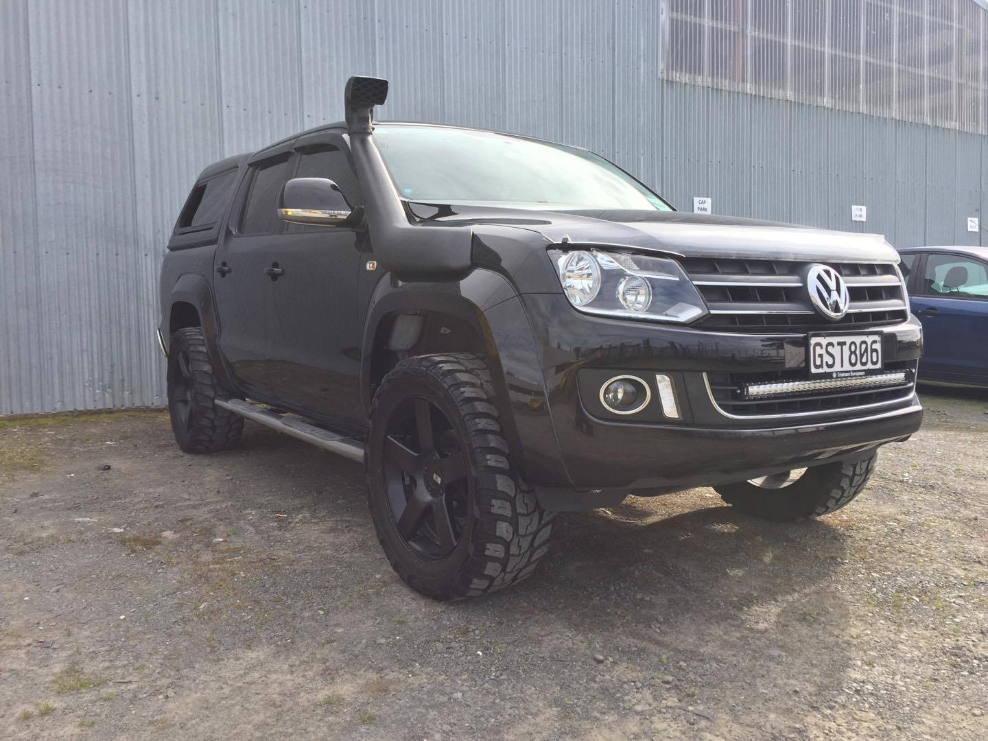 Amarok with 2 inch lift kit
