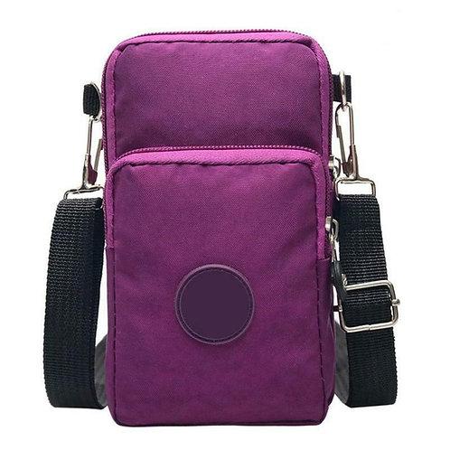 Women Cross-Body Cell Phone/wallet/keys Bag