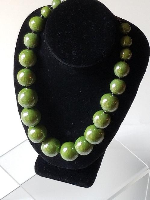 Tango Green Necklace