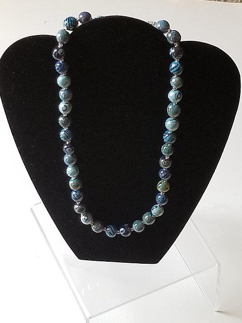 Kanga Rainbow Necklace