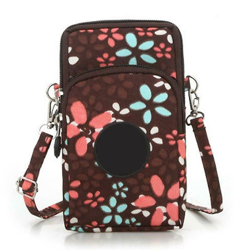 Women Cross-Body Cell Phone/wallet/keys Bag